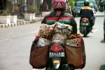 Scooter Jakarta carrying errands